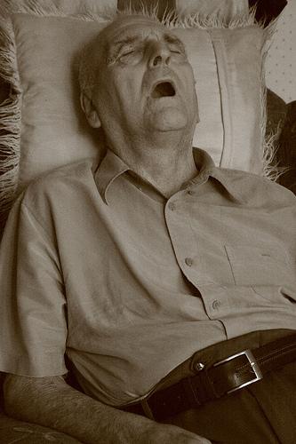Snoring-old-man